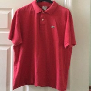 lLacoste Men's Polo size L